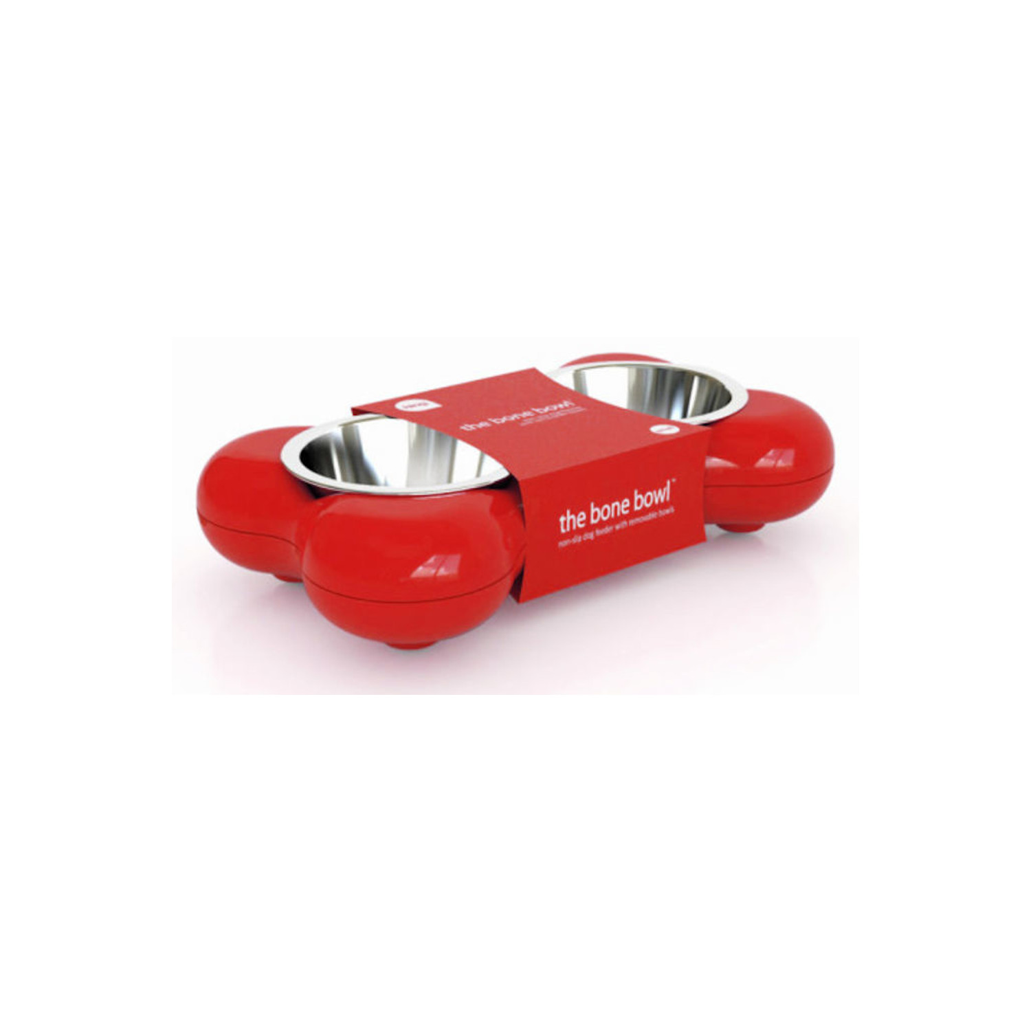 Double Bol Os Rouge - Hing