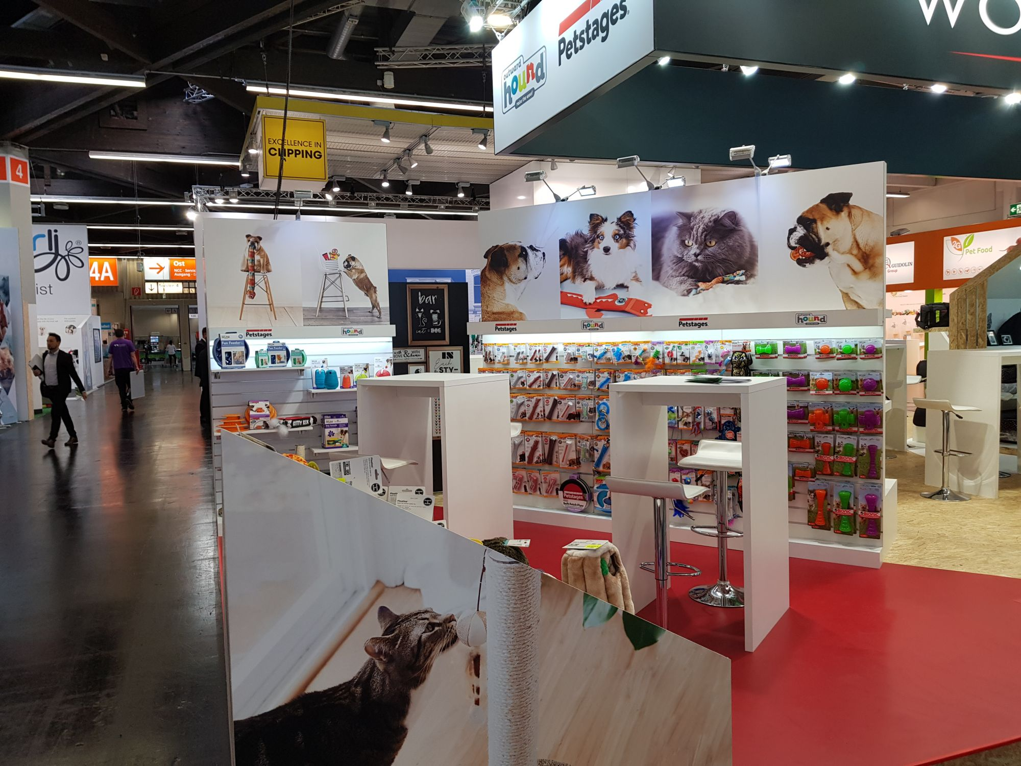 Stand Petstages Outward Hound Interzoo 2018