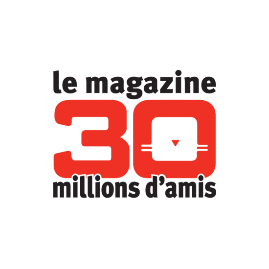 Logo 30 Millions dAmis Magazine
